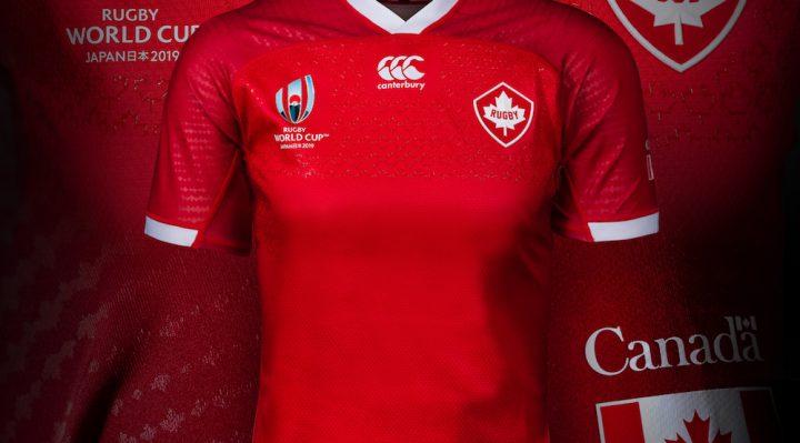 Canadá lanza las camisetas de la Copa Mundial de Rugby 2019