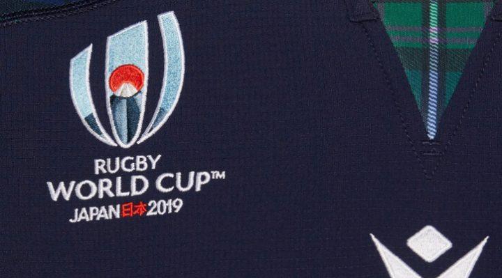 Scottish Rugby World Cup 2019 Mark Long camiseta de local y repuesto