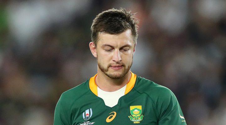 Pollard, el último Springbok enfrentando una temporada en el banquillo tras la lesión final de la Copa Mundial