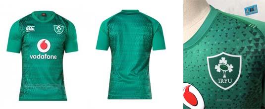 camiseta rugby Irlanda