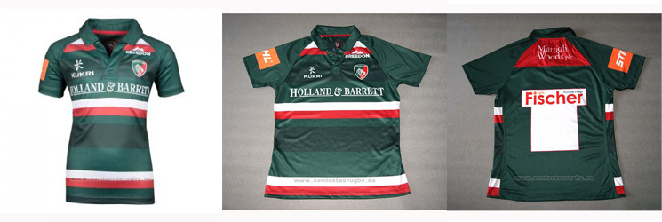 camiseta rugby Leicester Tigers 2019