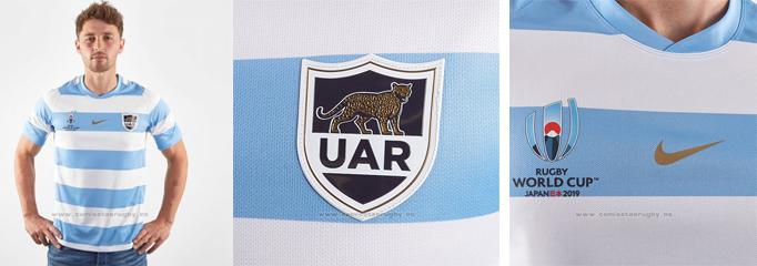 camiseta rugby Argentina 2019