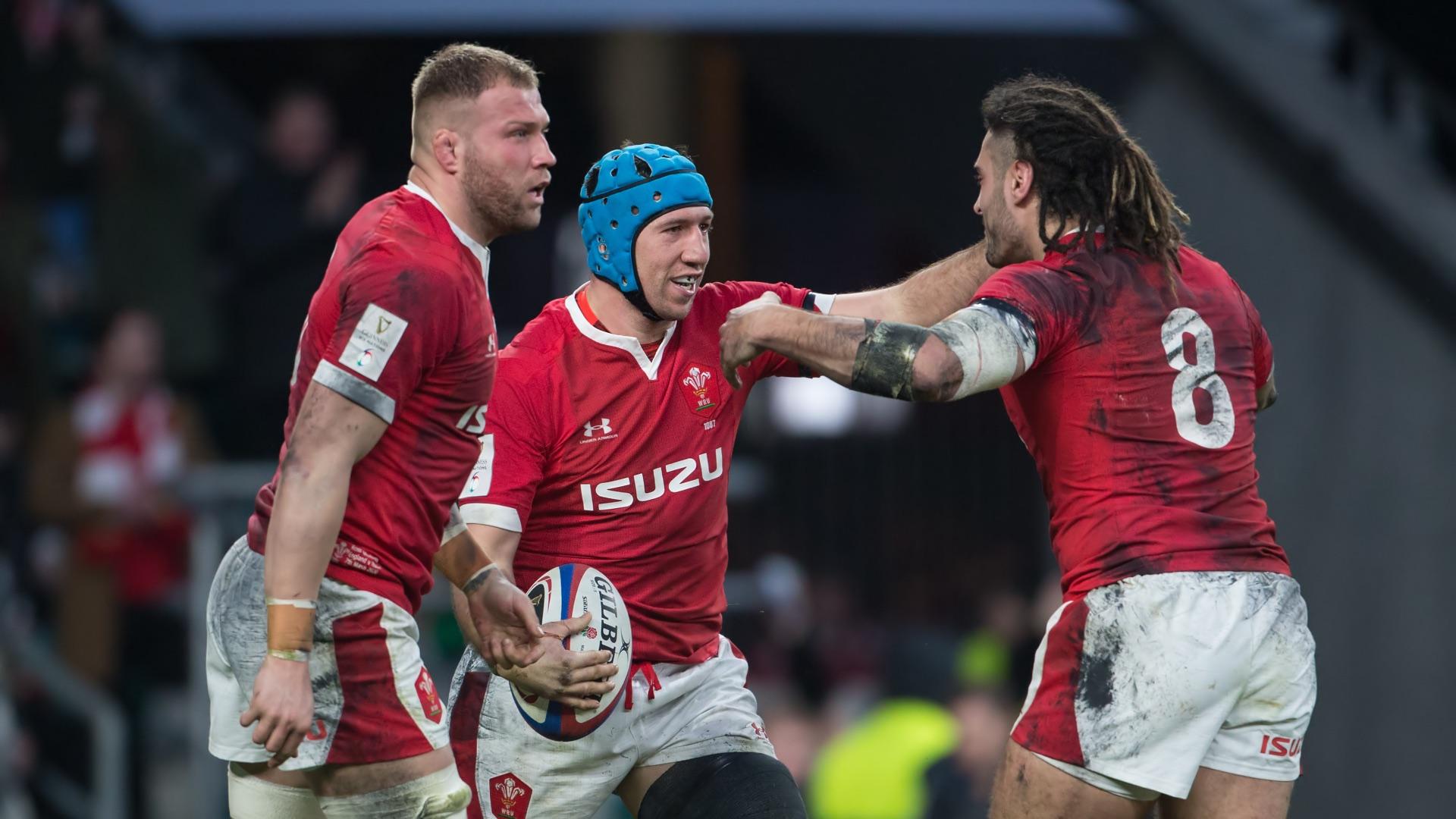 camiseta rugby Gales 2019